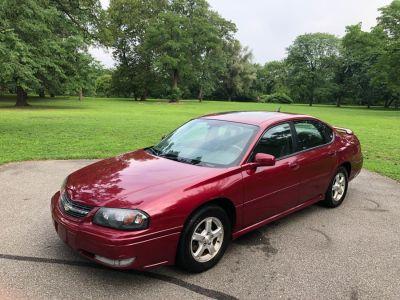 2005 Chevrolet Impala LS (Red)