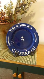 Pampered chef special day plate