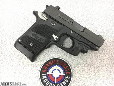 For Sale: Sig Sauer P938 Nightmare 9mm W/Crimson Trace Grips Nice!!!
