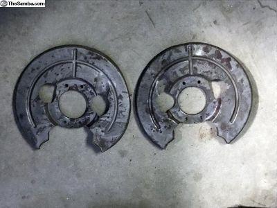 Porsche 356 C and SC Brake Backing Plates