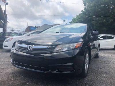 2012 Honda Civic EX (Black)