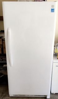 Kenmore Upright Freezer 22042 - White - Extended Warranty - Excellent Condition