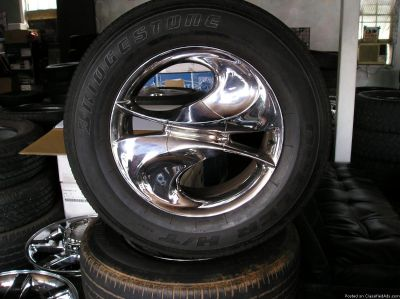 4 18 inch arelli assassin wheels and tires