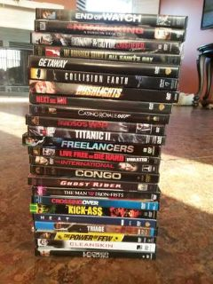 ACTION DVD LOT 78 movies