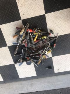 70+ screwdrivers and 10+ pliers/cutters