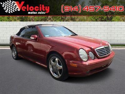 2001 Mercedes-Benz CLK-Class CLK430 (Red)