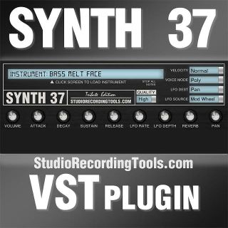 Moog Sub 37 Bass VST Plugin Synth 37