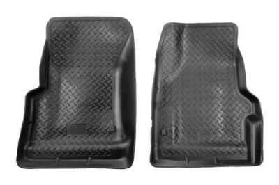 Purchase Husky Liners 31731 97-02 Jeep Wrangler Black Custom Floor Mats 1st Row motorcycle in Winfield, Kansas, US, for US $91.95