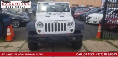 2013 Jeep Wrangler Unlimited Rubicon (Bright White)