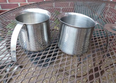 Pair of Krups Stainless Steel Pitchers