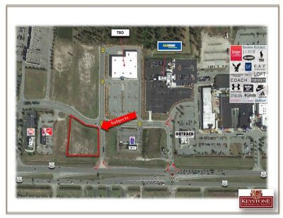 Colliers Highway 501 Tract- 1.74 Acres For Lease-Myrtle Beach, SC.