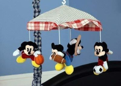 Vintage Mickey Musical Mobile