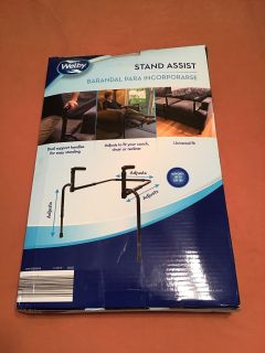 Stand Assist. Welty. Only used a few weeks. Pick up at Target in McCalla on Thursday s 5:15 - 6:00