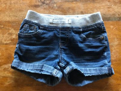 Justice jean shorts size 7 $1