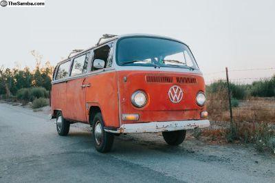 1968 VW Bus Camper