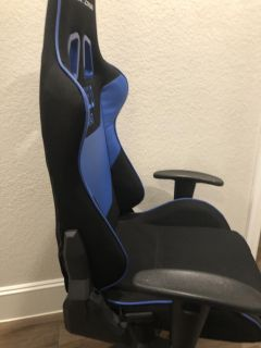 Blue GTE Racing Gaming Chair