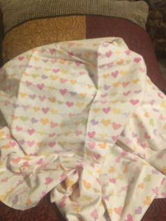 Flannel Baby Blanket w/ Hearts Swap Only