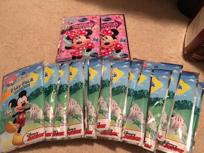NEW Mickey play pack 16 total