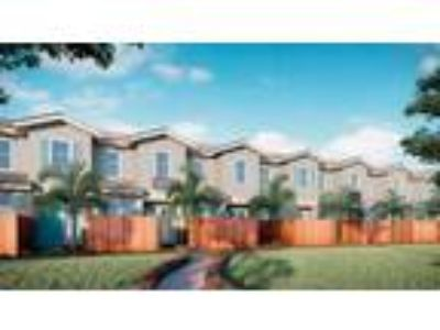 The Model A by The Townhomes on Coconut Palm : Plan to be Built