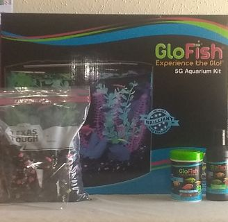 Brand New! GloFish 5G Aquarium Kit!