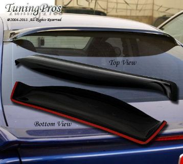 Sell JDM Rear Visor Roof Spoiler WindShield Deflector Honda Civic 92 93 94 95 4 Door motorcycle in Walnut, California, US, for US $49.90