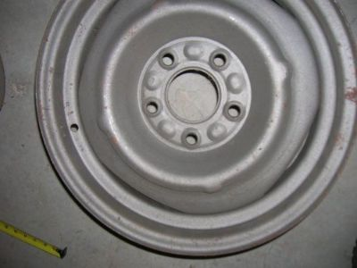 Sell GM WHEELS 15 x 6 DISC BRAKE 55-80 ..corvette motorcycle in Claremore, Oklahoma, United States, for US $139.00
