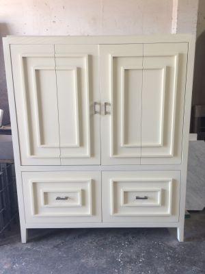 Cream Lacquer TV Cabinet