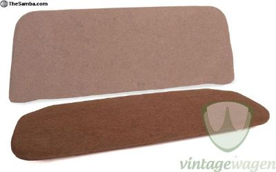 VW Split rear seat pad section up to 1955