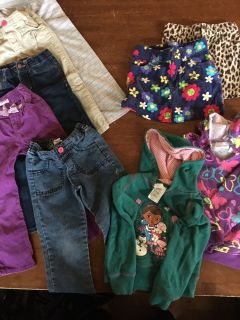 Girls Clothing Lot SIZE 4T