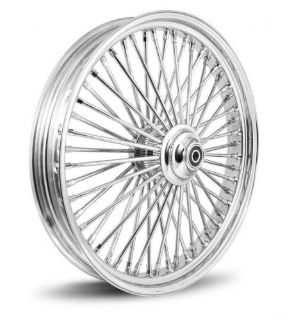 "Purchase 21X3.5"" DNA Smooth MAMMOTH 52 FAT SPOKE FRONT WHEEL HARLEY TOURING BAGGER motorcycle in Fort Worth, Texas, United States, for US $550.00"