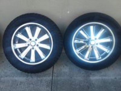 "20"" Rims and Tires"