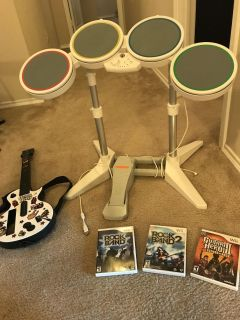 Wii Rock Band Complete Set