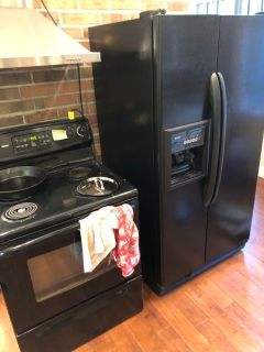 Free fridge and stove!