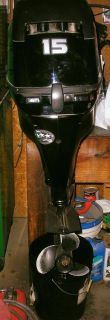 2014 Mercury Marine 15 HP 4S Outboards Portable Outboard Motors West Plains, MO
