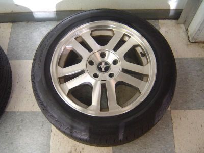 Buy 06-09 Ford Mustang GT OEM 17x8 Split 5 Spoke Wheel & Tire Assembly motorcycle in Columbia Station, Ohio, US, for US $149.99
