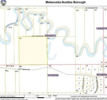 5672 W Sunrise Place Wasilla, Wooded 40 acre parcel near the