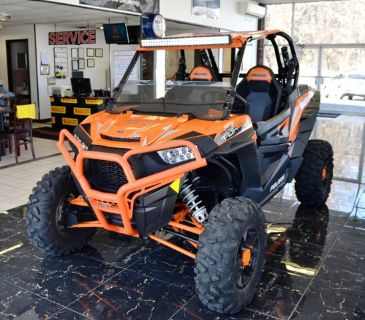 2016 POLARIS RZR xp 1000 Turbo Fox Edition (Orange)