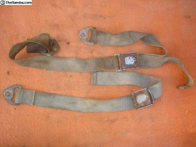 Old Seat Belt Pieces