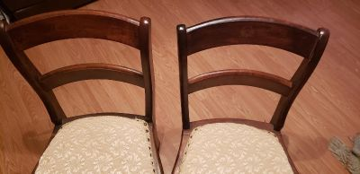 Set of cute antique chairs