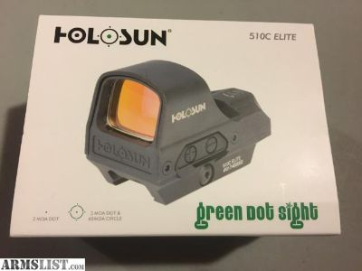 For Sale: Brand New Holosun red dot newest model