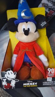New mickey mouse plush doll sorcerers apprentice