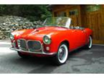 1958 Fiat 1200 TV Transformabile