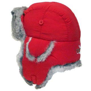 Purchase Yukon Taslan Alaskan Hat - Red With Gray Fur - Medium motorcycle in Bangor, Maine, United States, for US $26.99