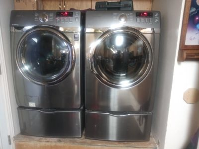 Samsung front loader washer and dryer set