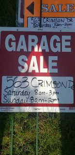 Moving/ Garage Sale -563 Crimson Dr, Crystal Lake