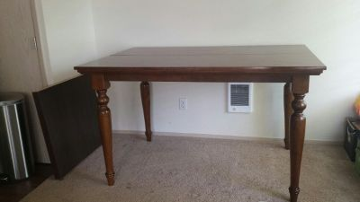 Brown Counter-height Extending Dining Table