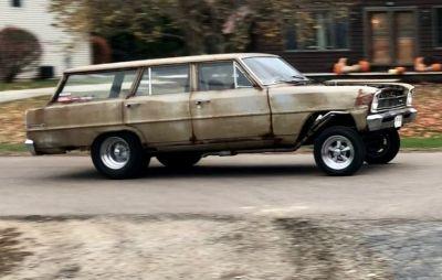 66 nova gasser wagon