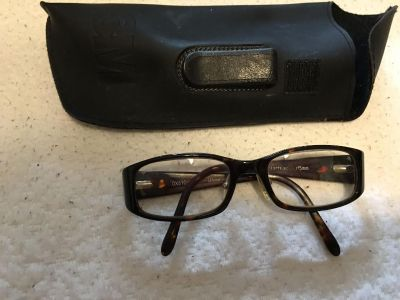 Glasses with case