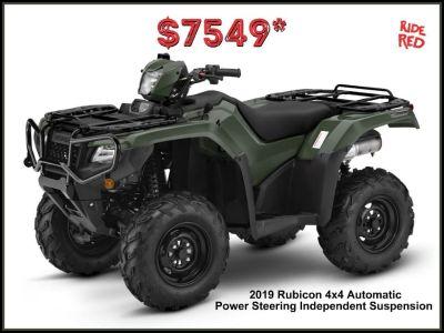 2019 Honda FourTrax Foreman Rubicon 4x4 Automatic DCT EPS ATV Utility Erie, PA