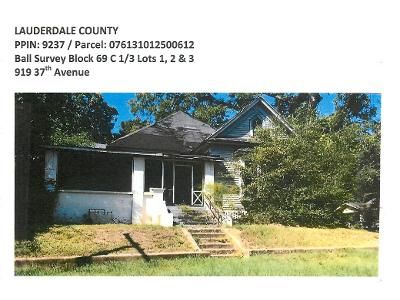 Foreclosure Property in Meridian, MS 39307 - 37th Ave